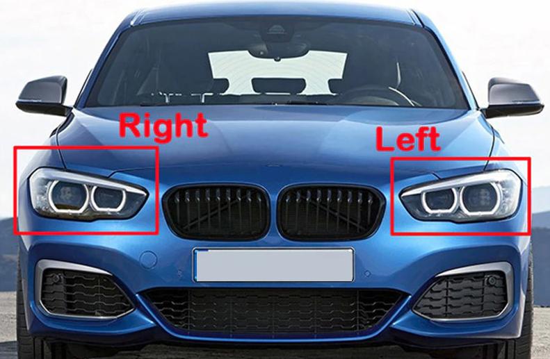 LEWY KLOSZ SZKŁO DO REFLEKTORA BMW 1 F20 LCI LIFT